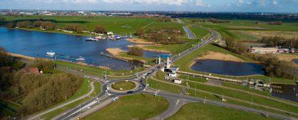 Luchtfoto's februari 2020 N307 Roggebot-Kampen