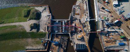 Luchtfoto's maart 2020 Reevesluis