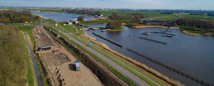 Luchtfoto's maart 2020 Drontermeerdijk
