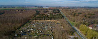 Luchtfoto's maart 2020 volkstuinvereniging