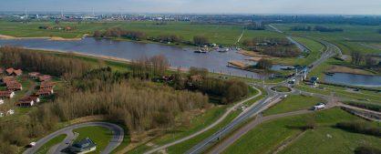 Luchtfoto's maart 2020 N307 Roggebot-Kampen